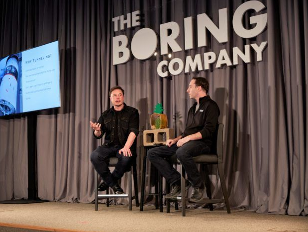 150 MPH Underground Ride at a cost of $1 – Elon Musk's The Boring Company statement