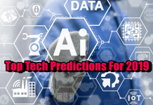Top Tech Predictions For 2019