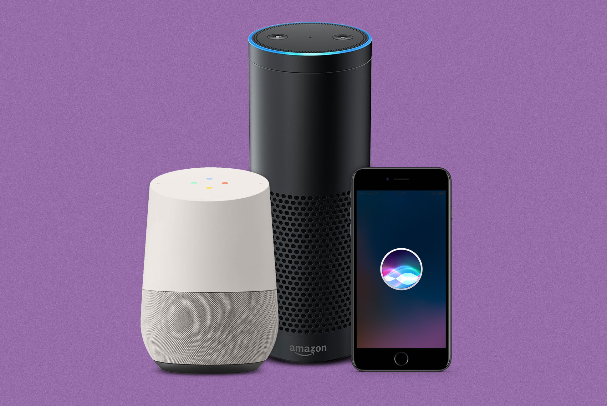 Top tech companies have their own virtual assistants