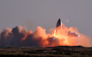 SpaceX Starship prototype SN8 explodes while landing after a test flight